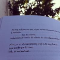 Libertad, yo escribo tu nombre. #poesía