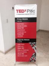 El menú de los participantes de charlas/Foto: Jorge Pistola.